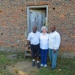 Joseph McGill, Prinny Anderson and Terry James at Brattonsville
