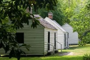 Slave Cabins at Magnolia Plantation, Charleston, SC