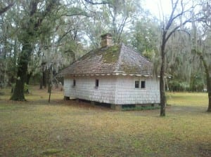 Slave Cabin at Hopsewee Plantation
