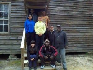 Slave Cabin at Laurelwood Plantation,  Eastover, SC