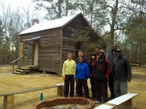 Slave Cabin at Laurelwood Plantation, Eastover, SC