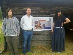 Slave Cabin at McCollum Farm