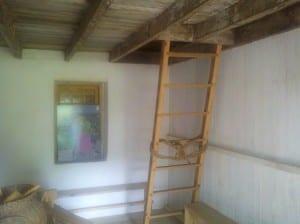 Interior of Slave Cabin at Ben Lomond Historic Site, Manassas, Virginia