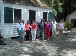Slave Cabin at the Heyward House, Bluffton, SC