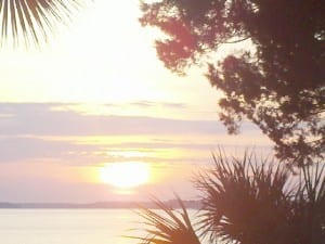 Sunrise on Daufuskie Island, SC