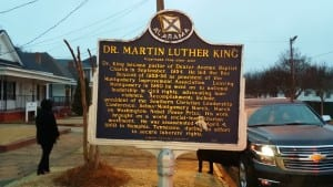 The home of Dr. Martin Luther King