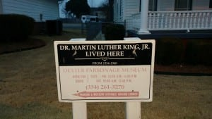The home where Dr. Martin Luther King, Jr. lived