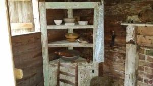 Inside Laura Carr's Cabin