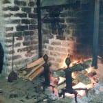 Inside the Cabin at Hopsewee Plantation