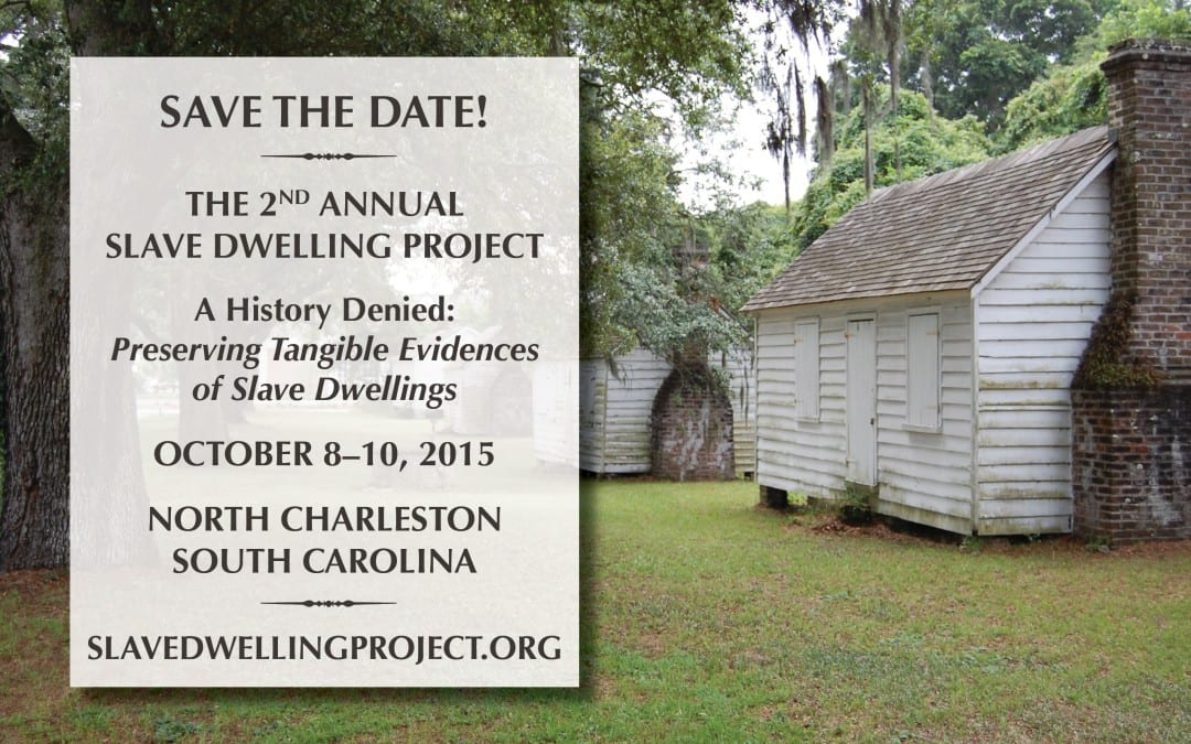 1772 Foundation Becomes Title Sponsor for the 2nd Annual Slave Dwelling Project Conference