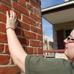 Finger Indentions in the Brick