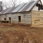 Slave cabin at Greenfield Plantation