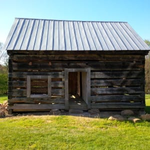 Slave Cabin at Pine hall Plantation