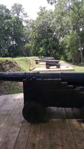 Cannons at Charles Towne Landing